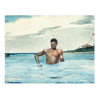 The Bather, 1899 Postcard
