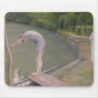The Bather, or The Diver, 1877 Mouse Pad
