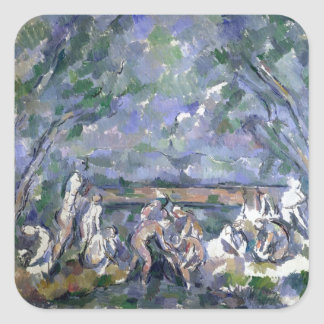 The Bathers, 1902-06 Square Stickers