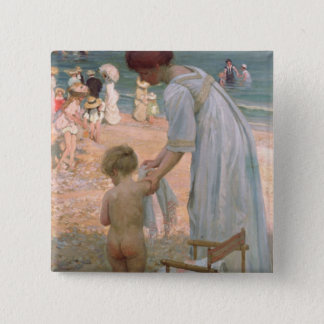 The Bathing Hour Pinback Button