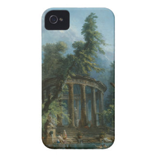The Bathing Pool - Hubert Robert iPhone 4 Case-Mate Case