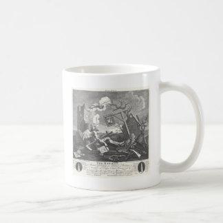 The Bathos by William Hogarth Coffee Mug