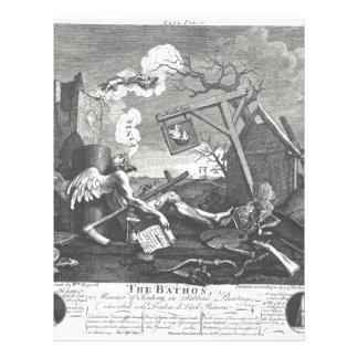 The Bathos by William Hogarth Letterhead