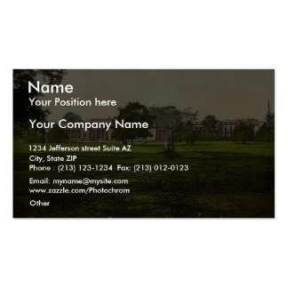 The Baths, Ashby-de-la-Zouch, England vintage Phot Double-Sided Standard Business Cards (Pack Of 100)