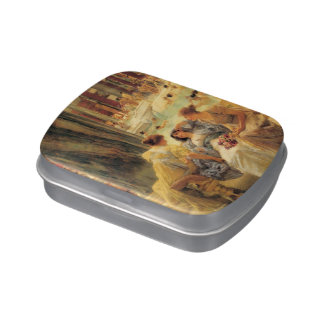 The Baths of Caracalla by Lawrence Alma-Tadema Jelly Belly Tin