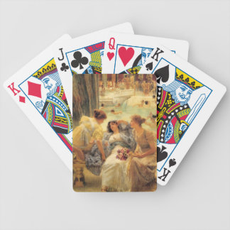 The Baths of Caracalla by Sir Lawrence Alma-Tadema Bicycle Playing Cards