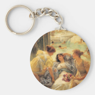 The Baths of Caracalla in detail Keychain