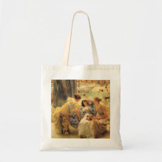The Baths of Caracalla in detail Tote Bag