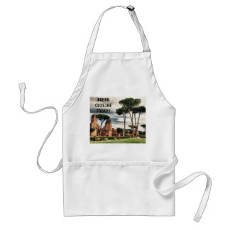 The Baths of Caracalla in Rome Adult Apron