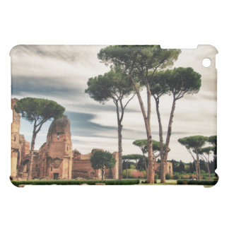 The Baths of Caracalla in Rome Cover For The iPad Mini