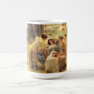The Baths of Caracalla Classic White Coffee Mug
