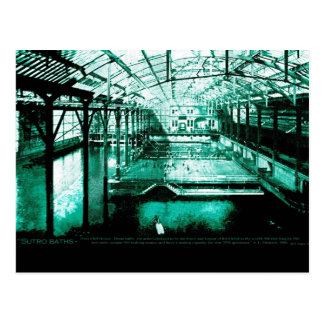 The Baths - Postcard