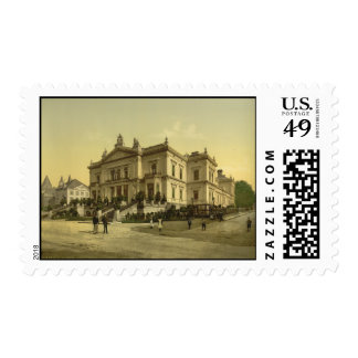 The Baths Spa Belgium Postage Stamps