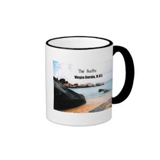 The Baths, Virgin Gorda B.V.I. Ringer Coffee Mug