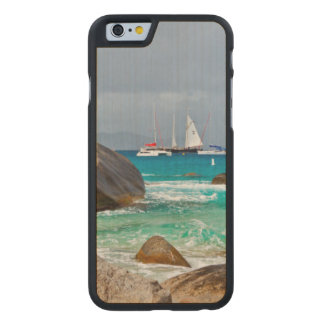 The Baths, Virgin Gorda, British Virgin Islands Carved Maple iPhone 6 Case