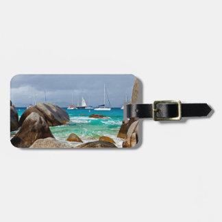 The Baths, Virgin Gorda, British Virgin Islands Luggage Tag