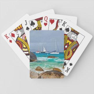 The Baths, Virgin Gorda, British Virgin Islands Playing Cards