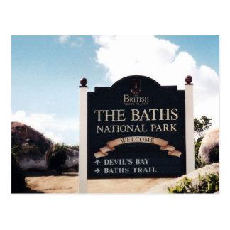 The Baths, Virgin Gorda Postcard