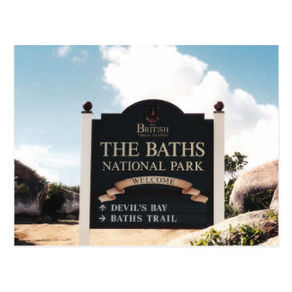 The Baths - Virgin Gorda Postcard