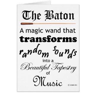 The Baton Card