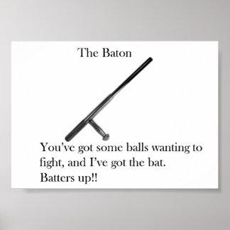 The Baton Poster