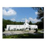 The Baton Rouge Louisiana LDS Temple Postcard