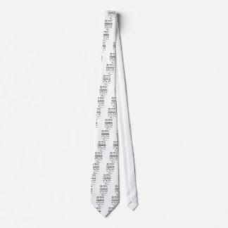 The Baton Tie