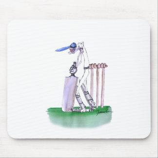 THE BATSMAN cricket, tony fernandes Mouse Pad