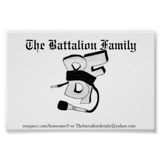 The Battalion Poster