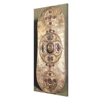 The Battersea Shield, c.350-50 BC Canvas Print