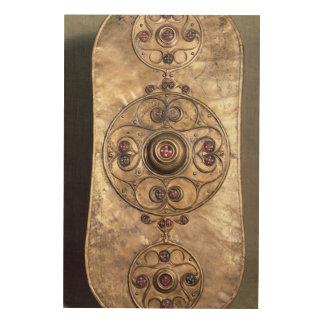 The Battersea Shield, c.350-50 BC Wood Wall Decor