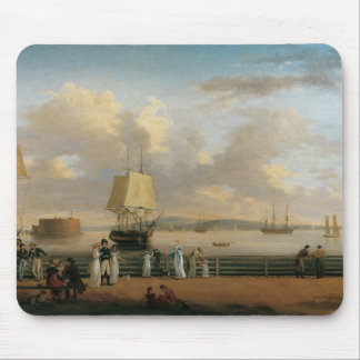 The Battery & Harbor, 1811 Mouse Pad