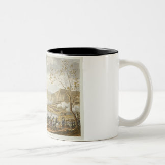 The Battle and Crossing of the Tagliamento, 26 Ven Two-Tone Coffee Mug