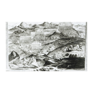The Battle Array of Carberry Hill Canvas Print