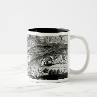 The Battle Array of Carberry Hill Two-Tone Coffee Mug