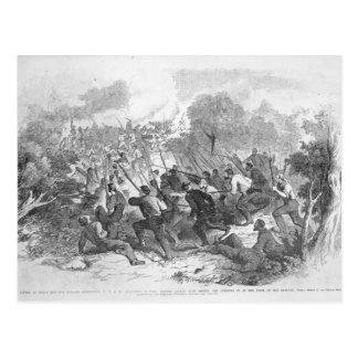 The Battle at Bull Run Postcard