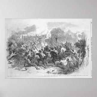 The Battle at Bull Run Poster