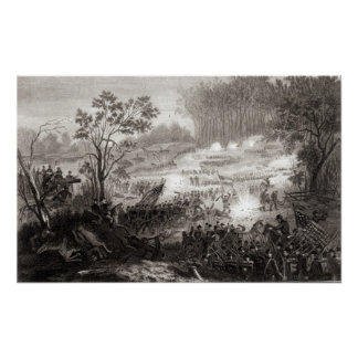 The Battle at Pittsburg Landing Poster