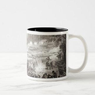 The Battle at Pittsburg Landing Two-Tone Coffee Mug