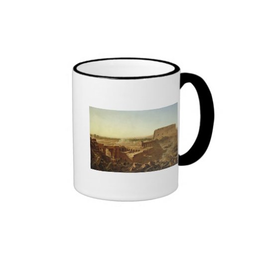 The Battle at the Temple of Karnak Coffee Mugs