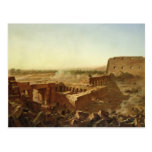 The Battle at the Temple of Karnak Postcard