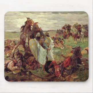 The Battle between Russians and Tatars, 1916 Mouse Pad