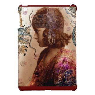 The Battle Flapper Girl & Dragon iPad Mini Cover