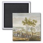 The Battle of Abensberg, 20 April 1809, engraved b Fridge Magnet