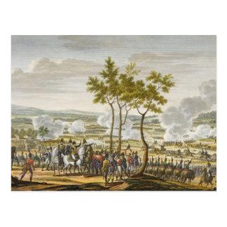 The Battle of Abensberg, 20 April 1809, engraved b Postcard