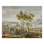 The Battle of Abensberg, 20 April 1809, engraved b Posters