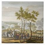 The Battle of Abensberg, 20 April 1809, engraved b Ceramic Tiles