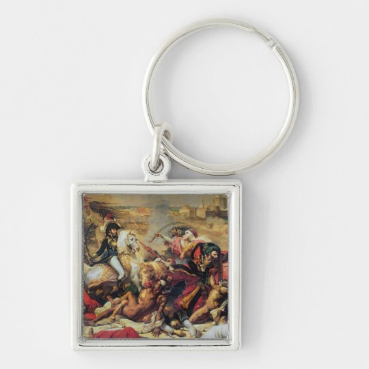 The Battle of Aboukir, 25th July 1799 Keychain