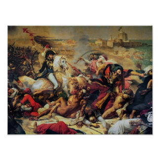 The Battle of Aboukir, 25th July 1799 Poster