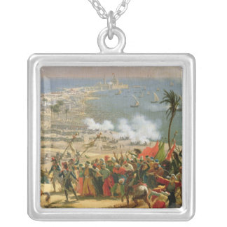 The Battle of Aboukir, 25th July 1799 Silver Plated Necklace